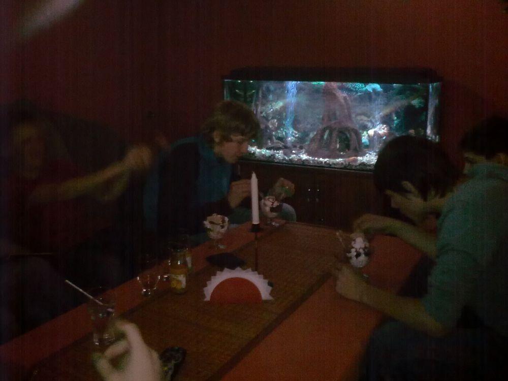w restauracji raz