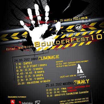 BoulderFest 10 edycja – 24-25.03.2012r.