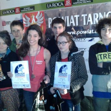 Puchar Polski Juniorów w bulderingu – Tarnów, 12.05.2012r.