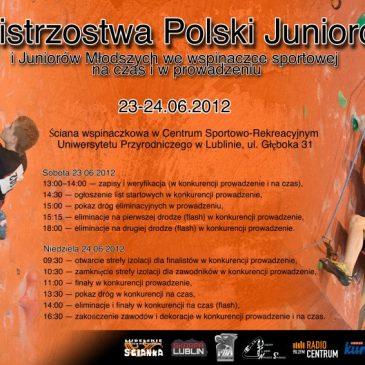 Mistrzostwa Polski Juniorów – Lublin, 23-24.06.2012r.