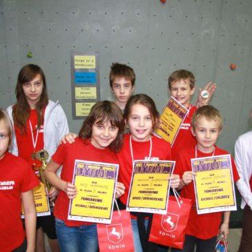 Puchar Polski Dzieci i Młodzików – Konin, 01.12.2012r.