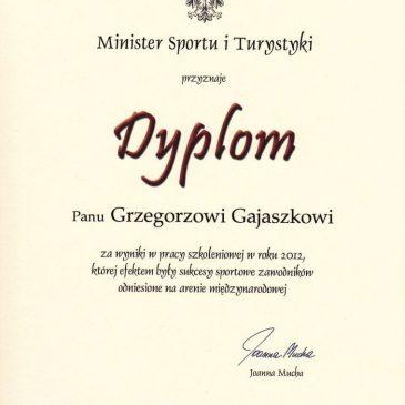 Chwalimy się – wyróżnienia Ministra Sportu i Turystyki