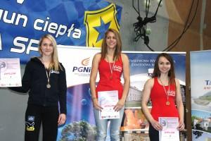 podium seniorek, fot. G. Gajaszek