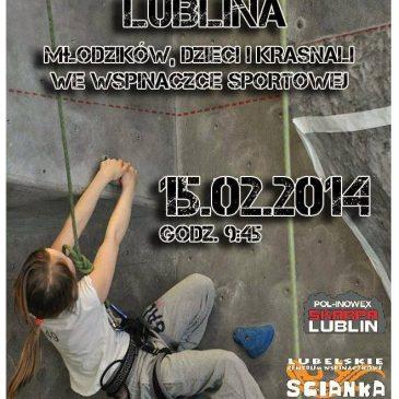 Będzie: Mistrzostwa Lublina – młodzików, dzieci i krasnali – 15.02.2014 r.
