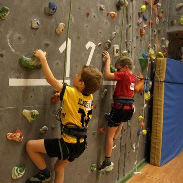Wspinanie to wyzwanie – zawody dla dzieci i młodzieży