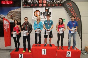 Podium Seniorów, 2 miejsce P.Chudziak, 3 miejsce K.Kwiatkowska, fot. Wojciech Nowak