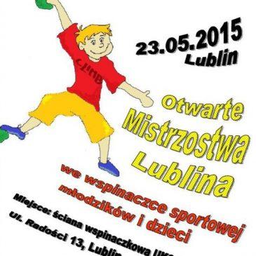 Otwarte Mistrzostwa Lublina młodzików i dzieci, Lublin 2015