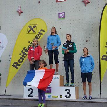 Patrycja Chudziak druga podczas Pucharu Europy Juniorów w Imst!
