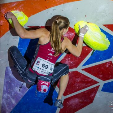 Karina Mirosław druga w Boulderres!