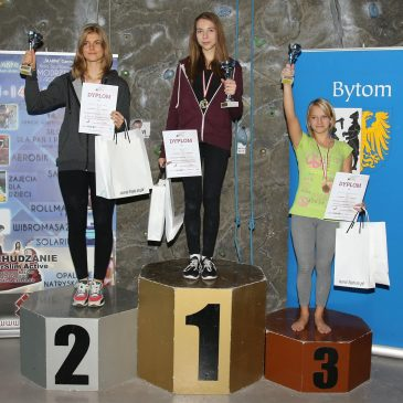 Nasze zawodniczki na pierwszych miejscach podium w Pucharze Młodzików i Dzieci w Bytomiu!
