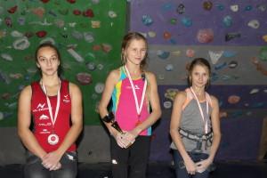 Podium Juniorek Młodszych, fot. G.Gajaszek