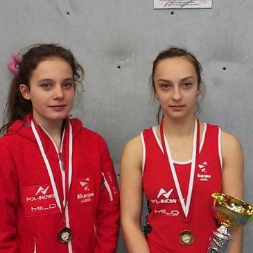 Natalia Woś i Marcelina Matyjaszczyk stają na podium pierwszej edycji Pucharu Polski Juniorów i Juniorów Młodszych w prowadzeniu w Tarnowskich Górach!