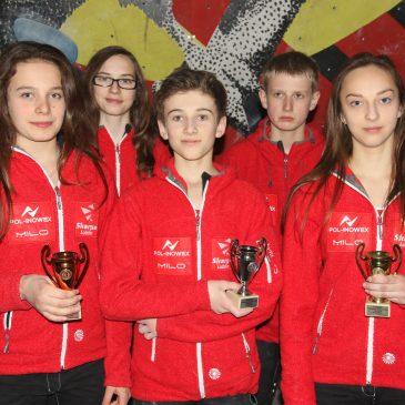 Trzy miejsca na podium, dla naszych zawodników w Pucharze Polski Juniorów i Juniorów Młodszych w bouldering w Łodzi!