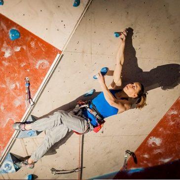 Karina Mirosław zdobywa dwa medale Akademickich Mistrzostw Polski we wspinaczce sportowej!