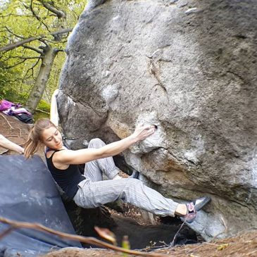 Karina i Milena podnoszą swoje poprzeczki w skałkach!