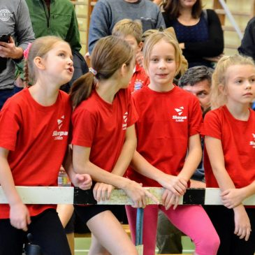 84 młodych wspinaczy zmagało się w Mistrzostwach Lublina we wspinaczcze sportowej na czas dzieci i młodzików