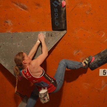 Milena Poniewozik trzecia na Mistrzostwach Polski w boulderingu!