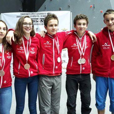 System Sportu Młodzieżowego 2019 – Pol-Inowex Skarpa Lublin pierwsza w rankingu wspinaczki sportowej!