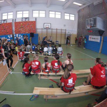 Mistrzostwa Lublina we wspinaczce sportowej na czas dzieci i młodzieży