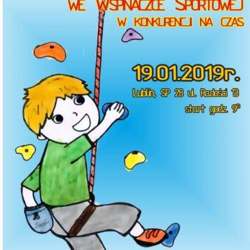 Mistrzostwa Skarpy we wspinaczce sportowej na czas dzieci i młodzieży